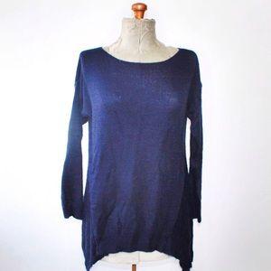 🎀3/$30 Beyond Capri Navy Blue Knit Sweater
